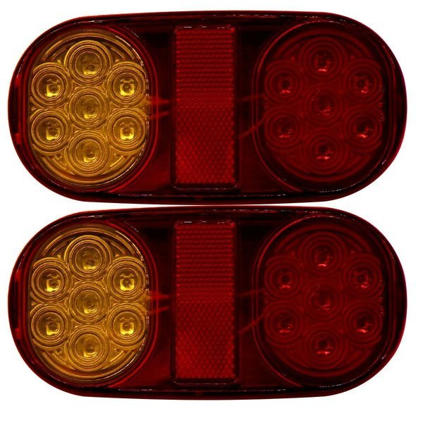 D4381A 12V LED 차량 후미등 2PCS 상품이미지
