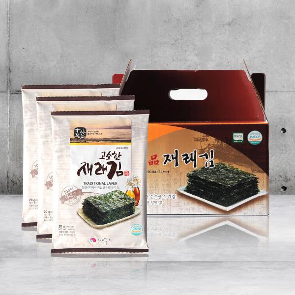 케이푸드 재래김 선물세트 5매x10봉 상품이미지