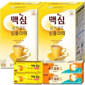 맥심 모카골드 심플라떼  140Tx2개+사은품/커피