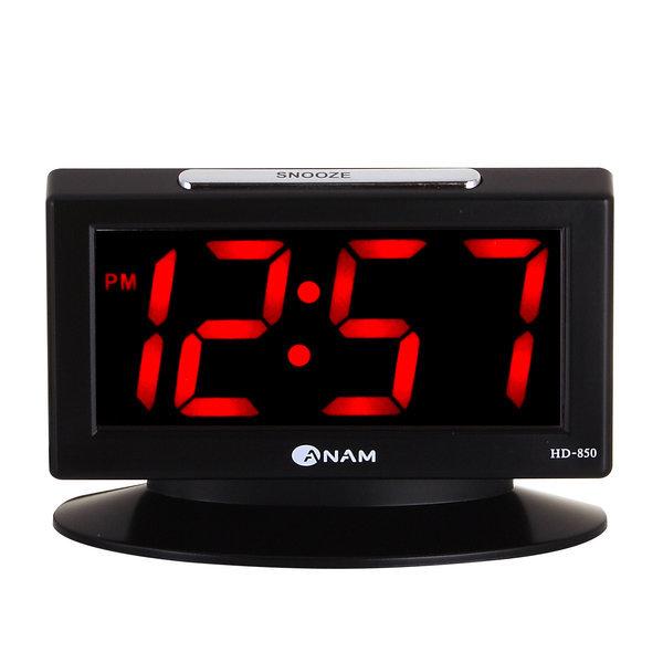 점보디지털시계 LED전자시계 디지털알람시계 HD850 BK 상품이미지