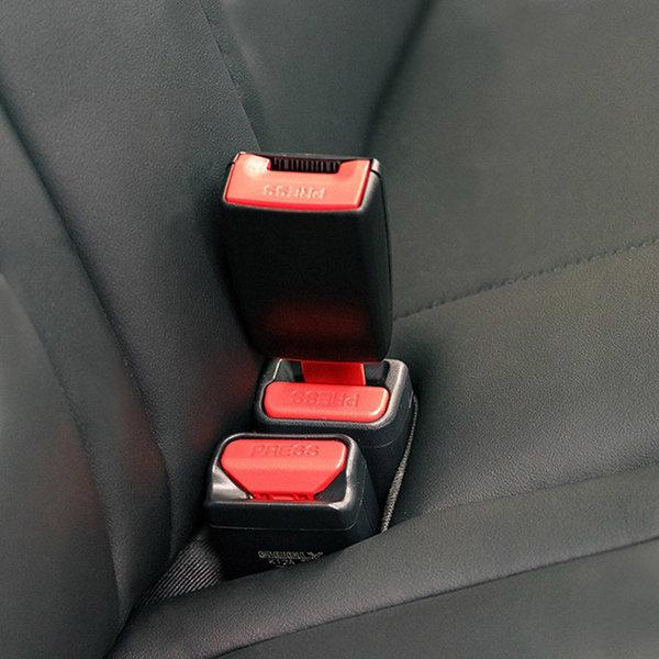 안전벨트 연장 클립 길이조절 버클 연장선 가드 25mm 상품이미지