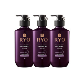 Ryo Jayangyunmo Shampoo for Oily Scalp 400ml 3pcs