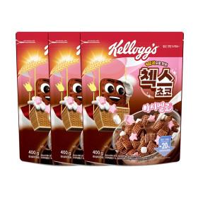 첵스초코 마쉬멜로우 400g 2박스 + 후르트링 30g 4개