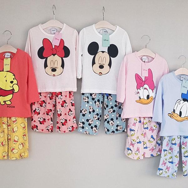 디즈니정품/유아 아동 잠옷/파자마/홈웨어/ 앙팡파자마 상품이미지