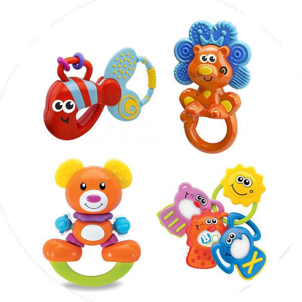 비키즈 유아 감각발달 장난감 신생아 치발기 딸랑이등 상품이미지