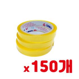 국산 스카치테이프 투명 16mm 40m 3개 x 50봉 150개