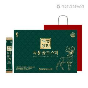 개성상인 녹용골드스틱 10ml 30포 /쇼핑백 증정