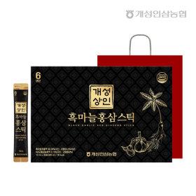 개성상인 흑마늘홍삼스틱 10ml 30포 /개성인삼농협
