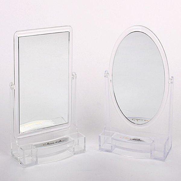 빠띠라인  크린스타 탁상용 거울 2종택 1 ST-4041 상품이미지