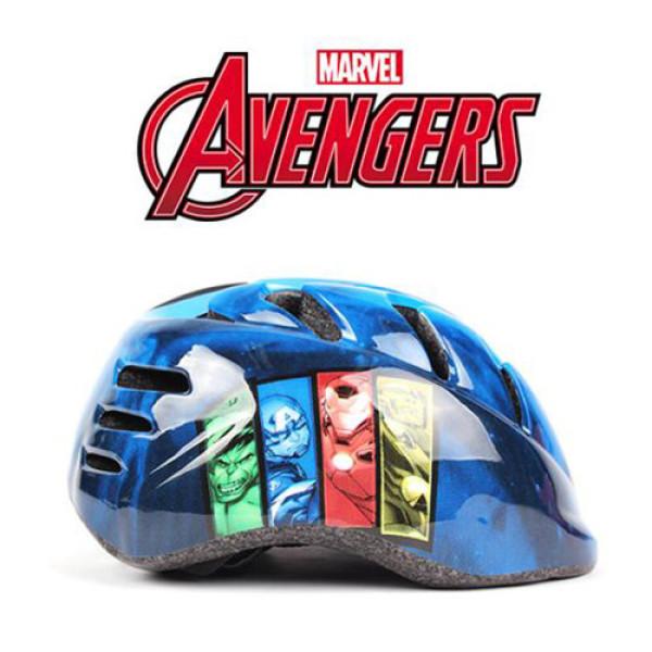마블  어벤져스 인라인/자전거 안전헬멧-블루 상품이미지