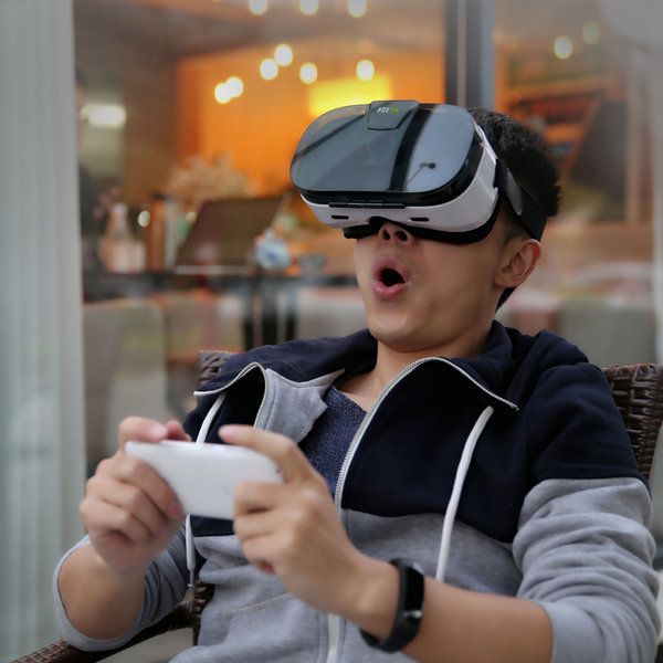 VR 가상현실 4D 헤드셋 안경 VR기기 게임 상품이미지