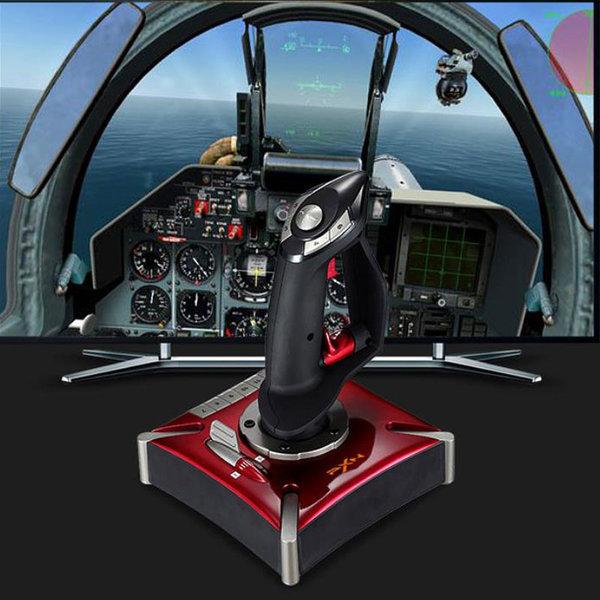 조이스틱 항공기 조종사 게임 USB 게임기 PC 상품이미지