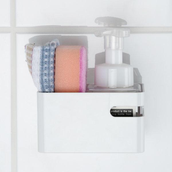 밀착패드 미니바스켓 욕실정리 청소용품보관 주방용품 상품이미지