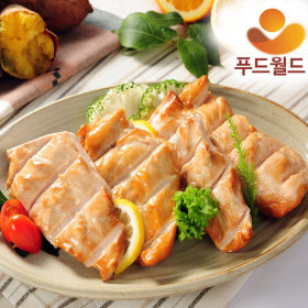 Made in Korea smoked chicken breast 3kg HACCP food world