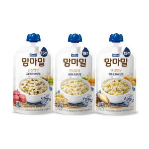 [매일유업]맘마밀 안심밥상 소불고기 가지 140g 10팩/이유식