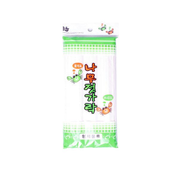 SM 나무젓가락 슈퍼용 24P / 일회용 숟가락 개별포장 상품이미지