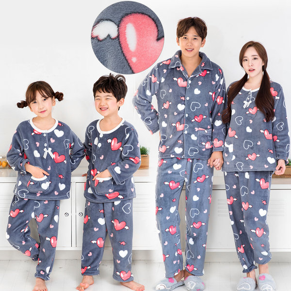 극세사잠옷 수면잠옷 밍크잠옷 커플잠옷 원피스잠옷 상품이미지