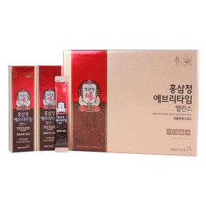 [정관장]정관장 홍삼정 에브리타임 밸런스/홍삼스틱 / 20포