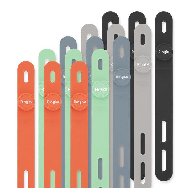 링케 실리콘 케이블 타이 / 선 정리 5EA 1pack 상품이미지