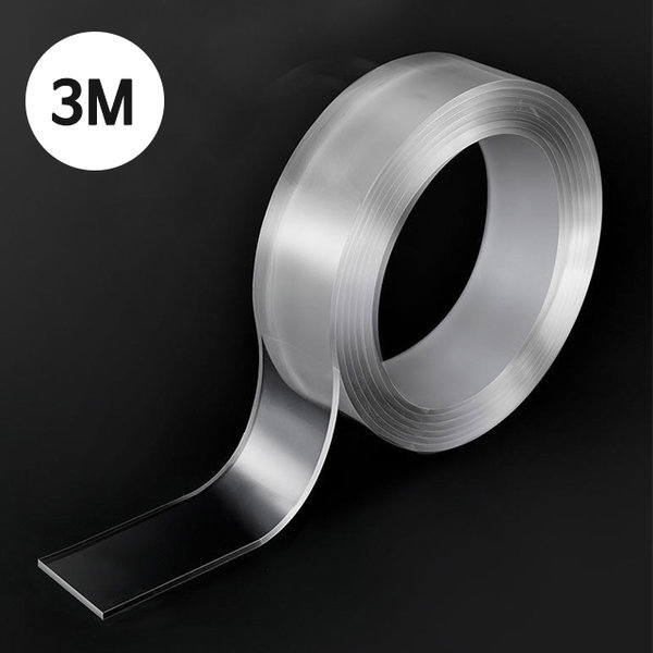 강력 투명 실리콘 양면 인테리어 테이프 3M 상품이미지
