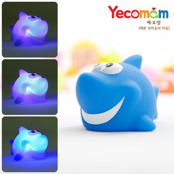 LED 물놀이용품/목욕놀이/장난감/ 상어(블루) 상품이미지
