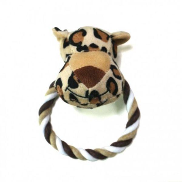 강아지장난감 쏘아베 사파리 치실장난감 표범 상품이미지
