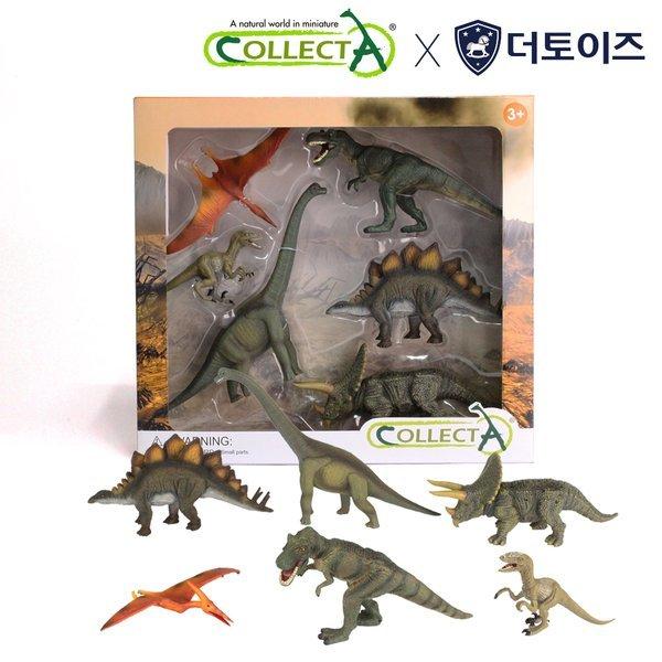 컬렉타 공룡 윈도우 세트 (6종) 상품이미지