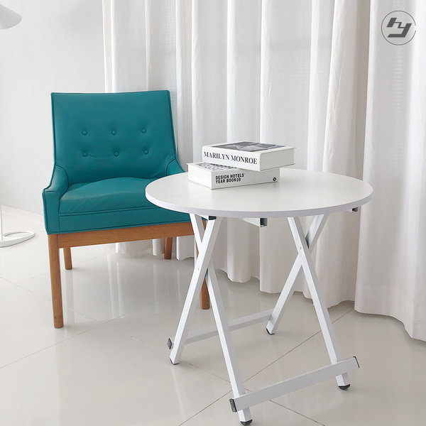 접이식 원형테이블 간이 카페 커피 티테이블 탁자 상품이미지