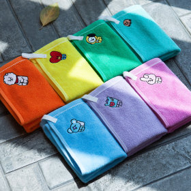 Official Product BT21 hand towel towel kitchen towel hanging towel