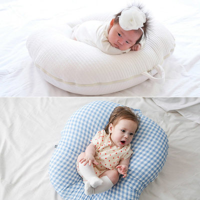 ROTOTO bebe Baby Backflow Prevention Cushion Nursing cushion Pigment