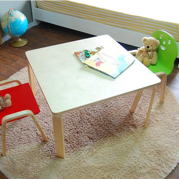 책상세트/ 토리 원목 초등 오리지널의자 정사각책상 상품이미지