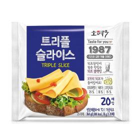 (1+1)동원소와나무_트리플슬라이스치즈_360G