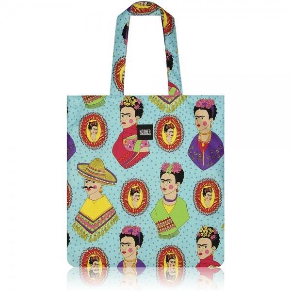 nother Fantastico Frida Flat Tote Bag (Turquoise) 상품이미지