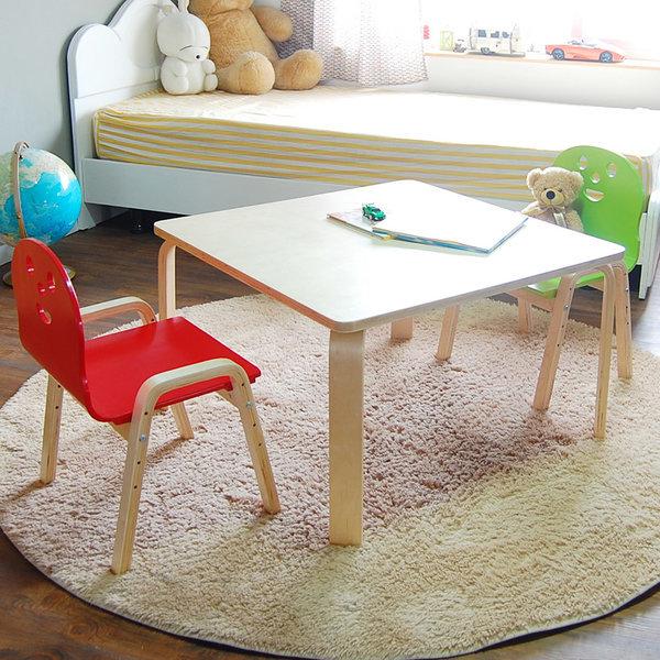 책상세트/ 토리원목 초등 오리지널의자 정사각수납책상 상품이미지
