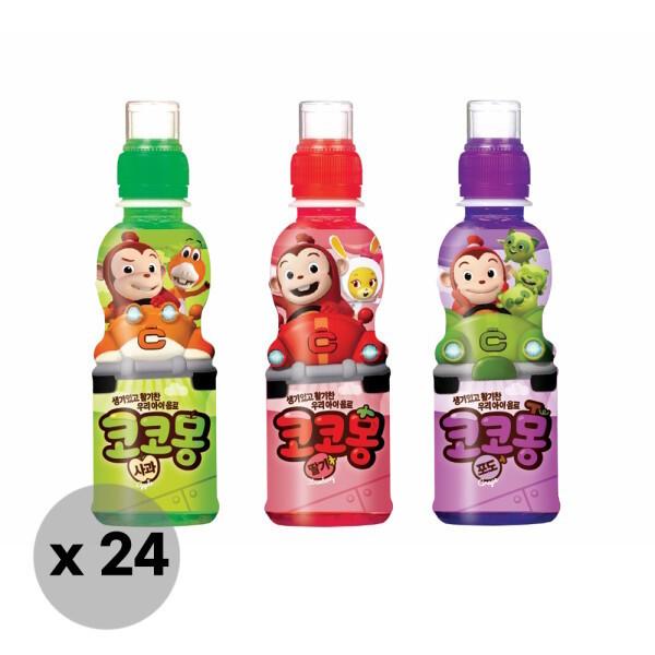 웅진식품  웅진 코코몽 어린이음료 200ml x 24pet (사과/딸기/포도) 상품이미지