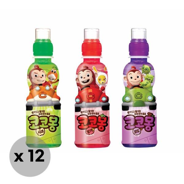 웅진식품  웅진 코코몽 어린이음료 200ml x 12pet (사과/딸기/포도) 상품이미지
