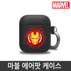 MARVEL/Official Product/Silicon/Airpods Case/Iron Man