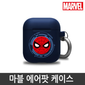 MARVEL/Official Product/Silicon/Airpods Case/Spider-Man