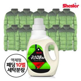 강호동의 쉬슬러 구스다운전용 세제 (650ml 1개)