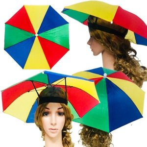 모자우산 양우산 우양산 양산 우산 우산모자 응원도구