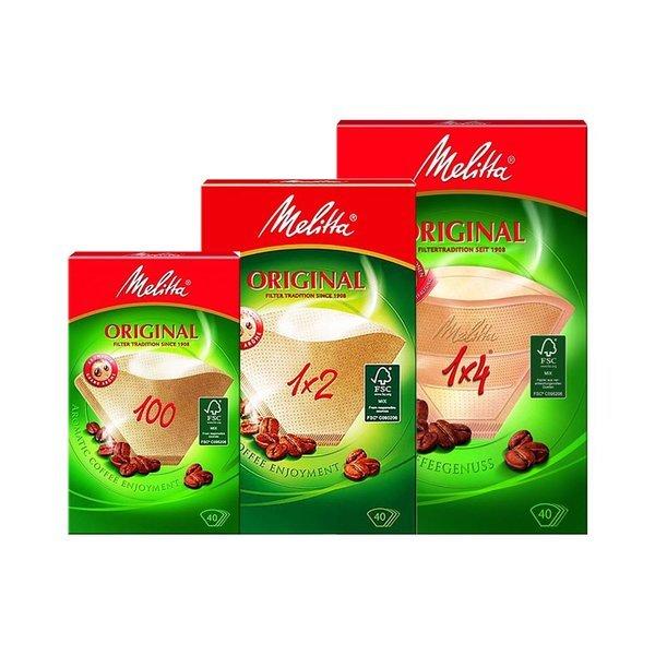 독일 밀리타 커피여과지(40매) 1x2/1x4/100(선택) 4팩 상품이미지