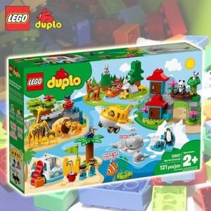 [레고]레고 10907 듀플로 세계 동물 탐험2 /국내 /당일출고