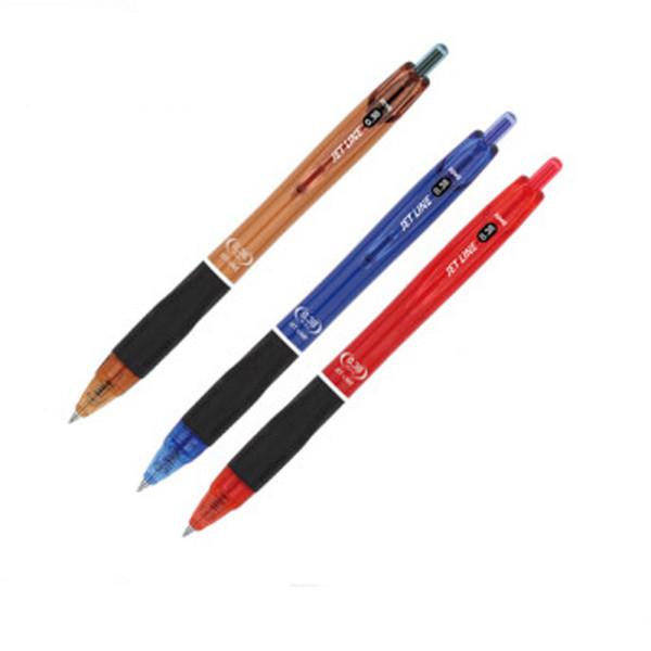 (자바)JET LINE(0.38mm)초저점도 유성볼펜(1자루)선택 상품이미지