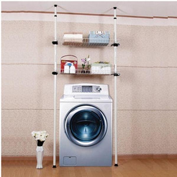 세탁기 2단 선반 세탁기선반 건조기선반 베란다선반 상품이미지