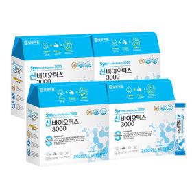 신 프로+프리바이오틱스 유산균 3000 4박스 (240포)