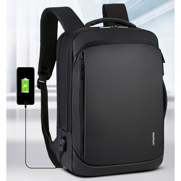 P19 남자 여행용 노트북 백팩 책가방 학생가방 대학생 상품이미지