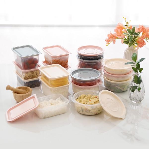 심플쿡냉동밥전자렌지용기(400ml)16개 밀폐용기 냉동 상품이미지
