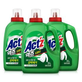 액체세제 액츠퍼펙트 3.2L 2개 딥클린