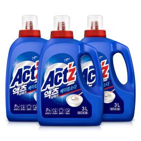 액체세제 액츠퍼펙트 3.2L 3개 베이킹
