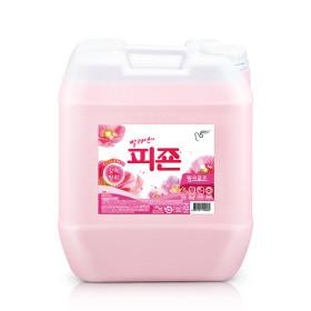 업소용 대용량 섬유유연제 피죤 20L 핑크